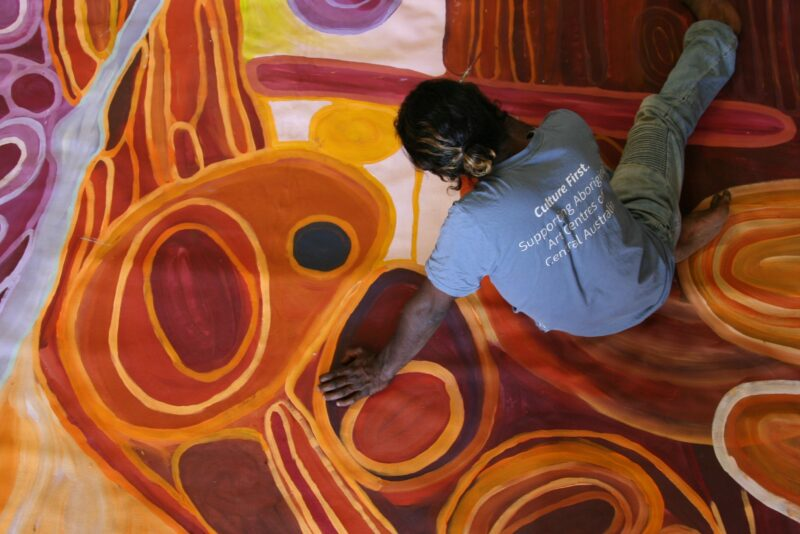 Short and Sweet: The Politics of Canvas: Martu Collaboration
